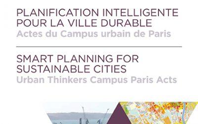 Campus Urbain «Planification intelligente pour la ville durable», Paris, janvier 2016