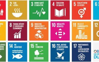 Les 17 Objectifs du Développement Durable des Nations Unies